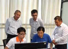 泰州高新区张国局长一行参观考察工立方打工网总部