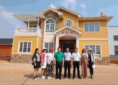 东泰集团南下考察定荣家 推进轻钢别墅项目战略合作