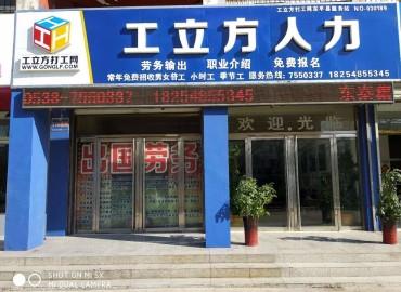 工立方东平县就业服务站